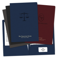 Picture of Embossed Legal Size Pocket Folders