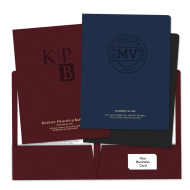 Picture of Embossed Pocket Folders