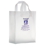 Picture for manufacturer Clear Frosted Shopper Bag - 10 x 13 x 5
