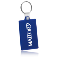 Picture of Soft Vinyl Rectangle Key Tag
