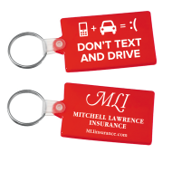 Picture of Don't Text and Drive Key Tag
