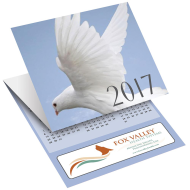 Picture for manufacturer Dove Tri-Fold Greeting Card Calendar
