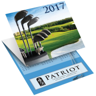 Picture for manufacturer Golf Tri-Fold Greeting Card Calendar