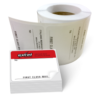 Picture of Mailing Labels On a Roll