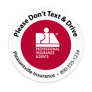 Picture for manufacturer PIA - Don't Text & Drive  Sticker