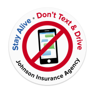 Picture for manufacturer Stay Alive - Don't Text & Drive Sticker