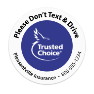 Picture for manufacturer Trusted Choice - Don't Text & Drive Sticker