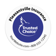 Picture for manufacturer Trusted Choice - Insurance Agency Sticker