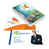 Picture of Business Card Stickers