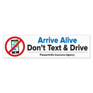 Picture for manufacturer Arrive Alive - Don't Text and Drive Bumper Stickers