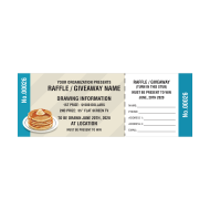 Picture for manufacturer Pancakes Raffle Tickets