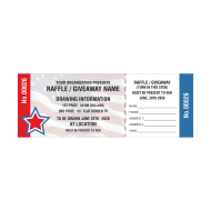 Picture for manufacturer Patriotic Raffle Tickets