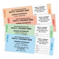 Picture for manufacturer Generic Raffle Tickets