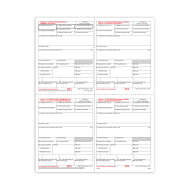 Picture for manufacturer Form W-2 - Condensed B/C/2/2 - 4up (5205)