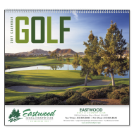 Picture for manufacturer Golf Wall Calendar - Spiral