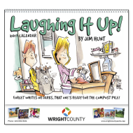 Picture for manufacturer Laughing It Up Wall Calendar - Spiral