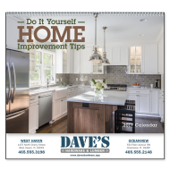 Picture for manufacturer Home Improvement Tips Wall Calendar