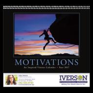 Picture for manufacturer Motivations Wall Calendar - Spiral