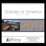 Picture for manufacturer Scenes Of America Big Block Memo Wall Calendar