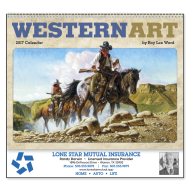 Picture for manufacturer Western Art by Roy Lee Ward Wall Calendar