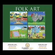 Picture for manufacturer Folk Art Wall Calendar