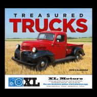 Picture for manufacturer Treasured Trucks Wall Calendar