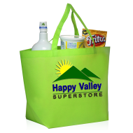 Picture for manufacturer Non-Woven Budget Shopper Tote Bag - 20 x 13 x 8