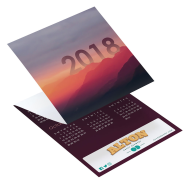 Picture for manufacturer Landscape Tri-Fold Greeting Card Calendar