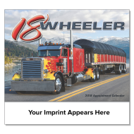 Picture for manufacturer 18 Wheeler Wall Calendar