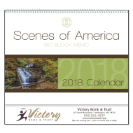 Picture for manufacturer Scenes Of America Big Block Memo Wall Calendar