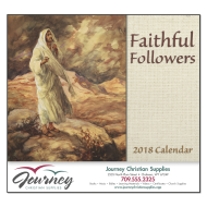 Picture for manufacturer Faithful Followers Wall Calendar