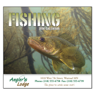 Picture for manufacturer Fishing Wall Calendar