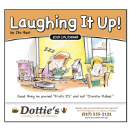 Picture for manufacturer Laughing It Up! Wall Calendar