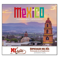 Picture for manufacturer Mexico Wall Calendar