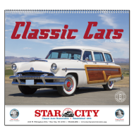 Picture for manufacturer Classic Cars Wall Calendar