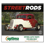 Picture for manufacturer Street Rods Wall Calendar