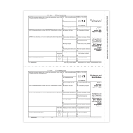 Picture for manufacturer Form 1099-DIV - Copy 1 Payer State (5132)