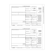 Picture for manufacturer Form 1099-INT - Copy 2 Recipient State (5121)