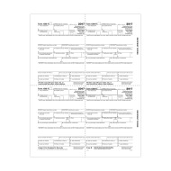 Picture for manufacturer Form 1099-R - Copy B Recipient Condensed - 4up (5175)
