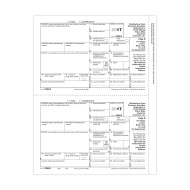 Picture for manufacturer Form 1099-R - Copy D/1 Payer/State (5143)