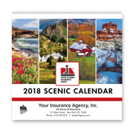 Picture of PIA® Custom Scenic Wall Calendar
