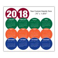 Picture for manufacturer Calendar Magnet - Circles