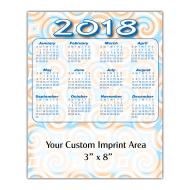 Picture for manufacturer Large Calendar Magnet - Swirls