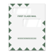 Picture of Double Window Tax Software Envelope (80324)