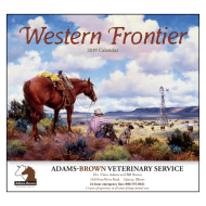 Picture for manufacturer Western Frontier Wall Calendar