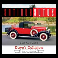 Picture for manufacturer Antique Autos Wall Calendar