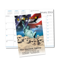 Picture of Patriotic Monthly Pocket Planner (CB11)