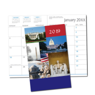 Picture of Nation's Capital  Monthly Pocket Planner (CB19)