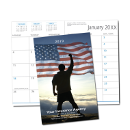 Picture of American Pride Monthly Pocket Planner (CB25)