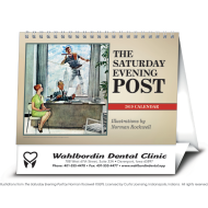 Picture for manufacturer The Saturday Evening Post Large Desk Calendar